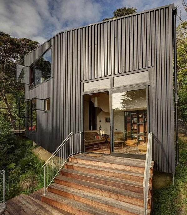 metal building homes modern house architecture