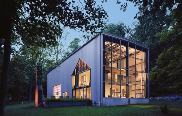 contemporary metal homes modern house