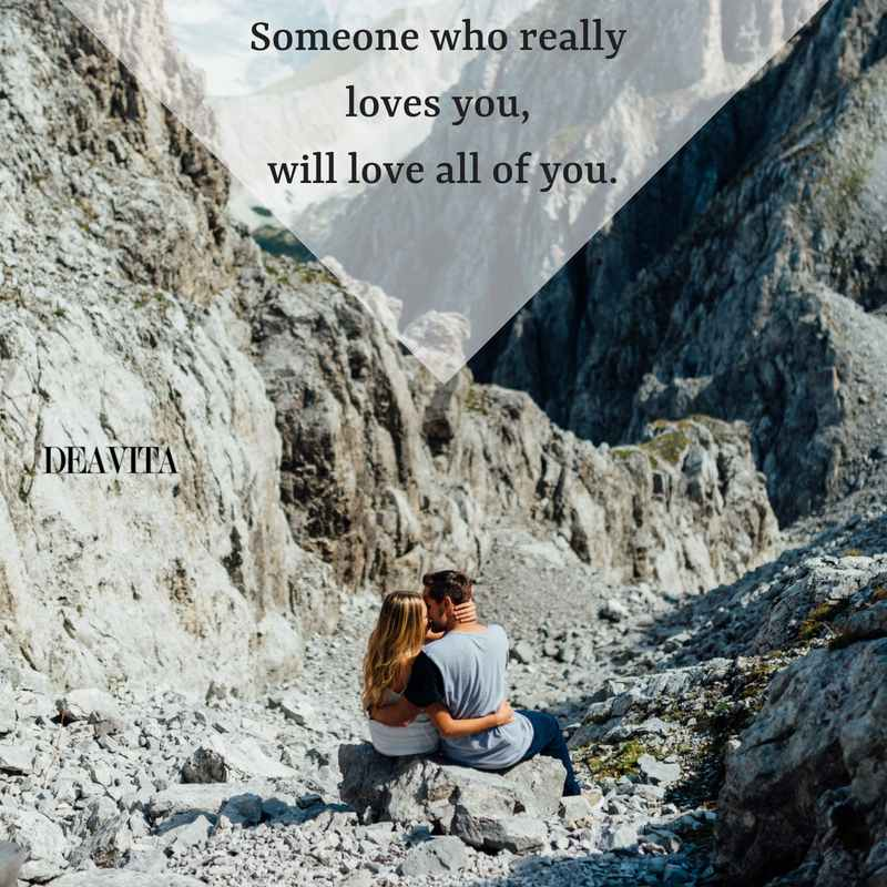 deep quotes about love with cute texts