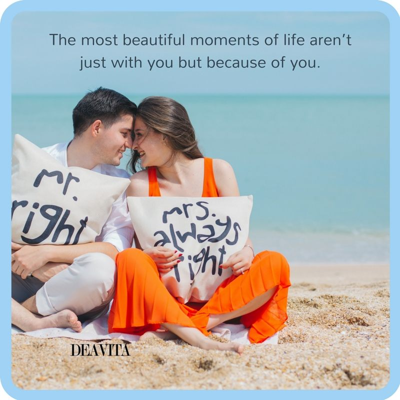 Nice and romantic couple quotes with text and photos