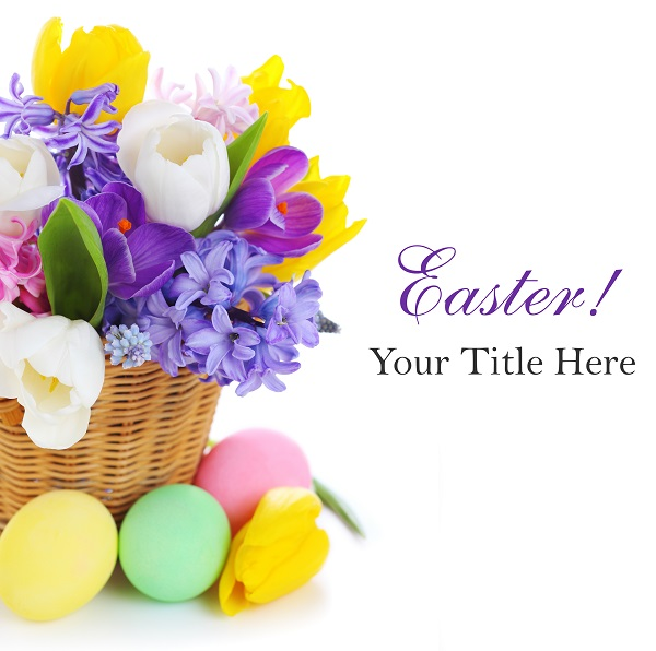 pictures online greetings cards basket flowers eggs