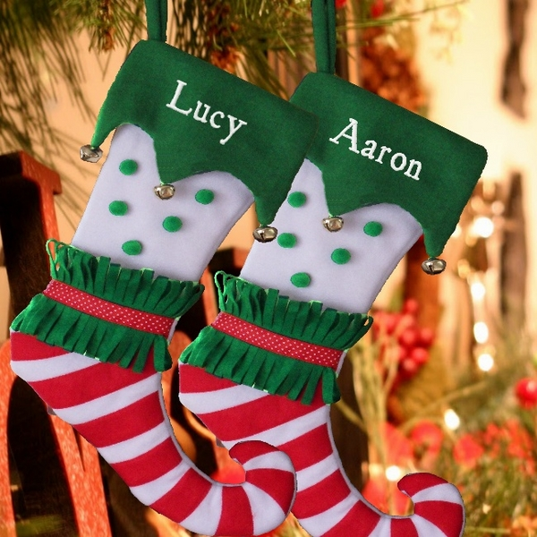 personalised-elf-stockings-Christmas-craft-ideas