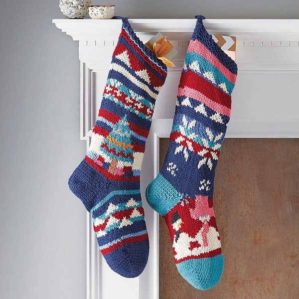 homemade-christmas-gifts-ideas-hand-knitted-christmas-stockings