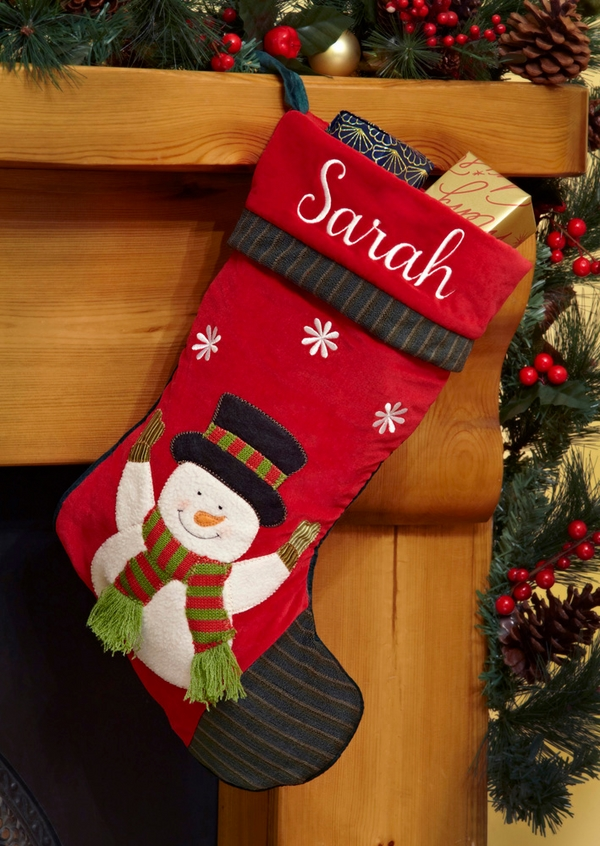 DIY-Snowman-Christmas-stocking-Christmas-gifts-ideas