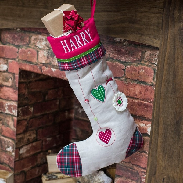DIY -personalised-christmas-stockings-hand made Christmas gifts