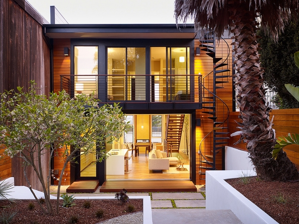 outdoor modern house architecture
