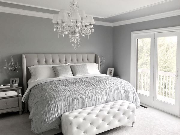 master bedroom decorating ideas neutral color scheme gray white