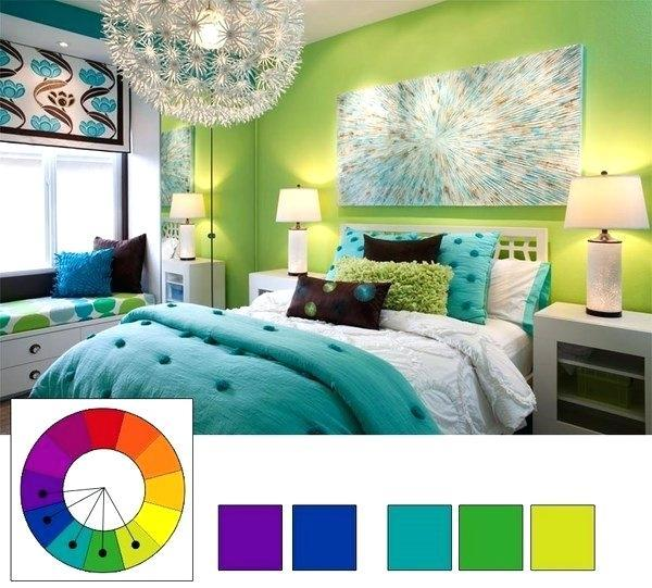positive colors for bedrooms analogous colors bedroom decorating ideas