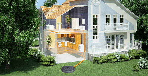 family house septic system cleaning pumping maintenance