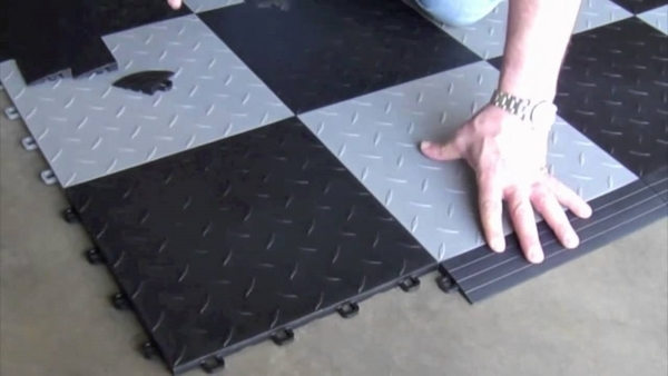 garage floor tiles modular interlocking tiles