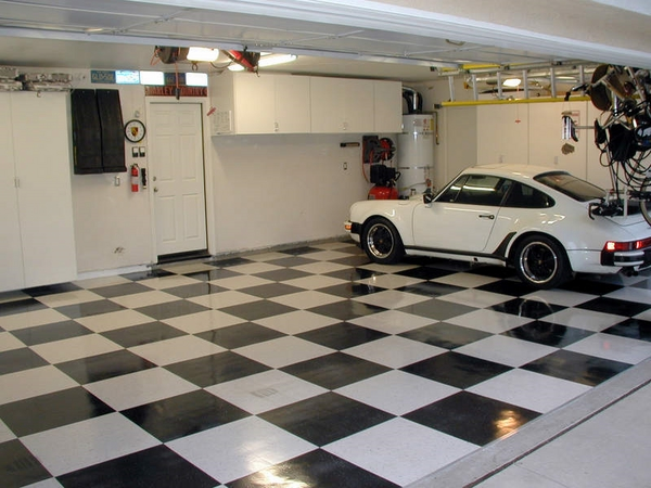 garage ideas motofloor tiles