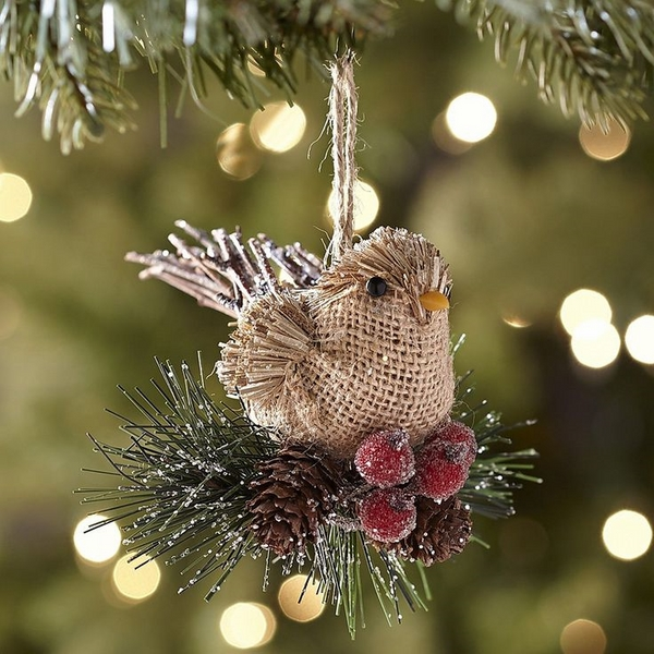 burlap christmas tree burlap ornaments ideas rustic christmas decor
