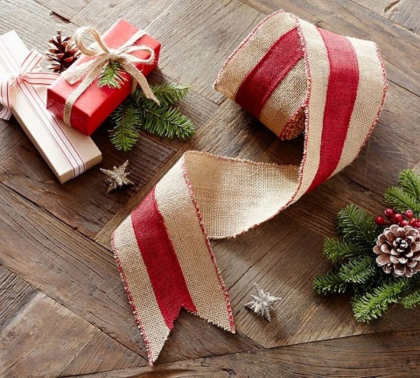 burlaptree burlap ornaments primitive decor gift wrapping ideas