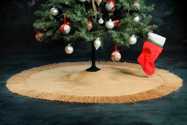 burlap christmas tree burlap christmas tree skirt