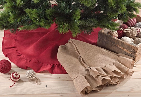 burlap christmas tree burlap ornaments diy burlap tree skirt ideas