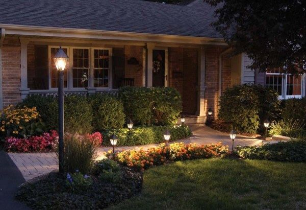 exterior design ideas outdoor lighting
