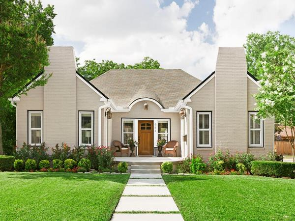 how to improve the curb appeal quickly on a budget