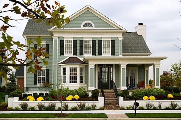 beautiful house exterior front yard decorating ideas