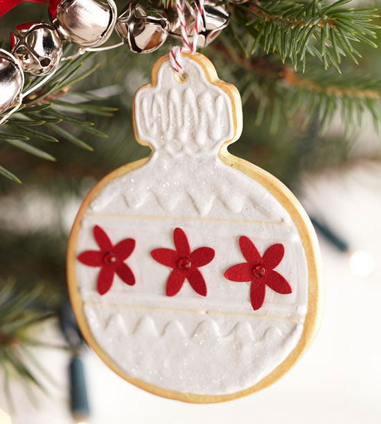 homemade cookie ornament