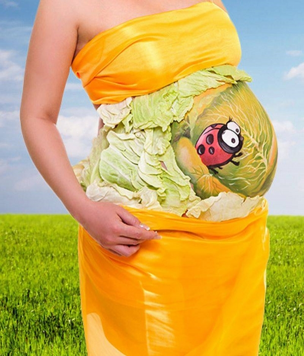 halloween costumes for pregnant women belly make up