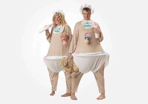 cute funny halloween costumes for pregnant women baby costume