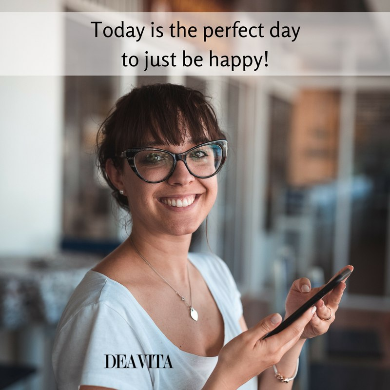 the perfect day to be happy inspirational quotes and cards with text