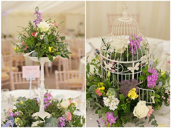 adorable shabby-chic decoration ideas wedding decorations table centerpieces