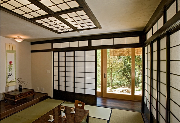 shoji door designs asian interior minimalist design