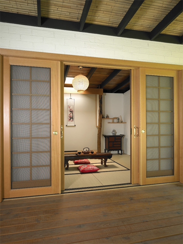 home entry shoji japanese style sliding doors designs
