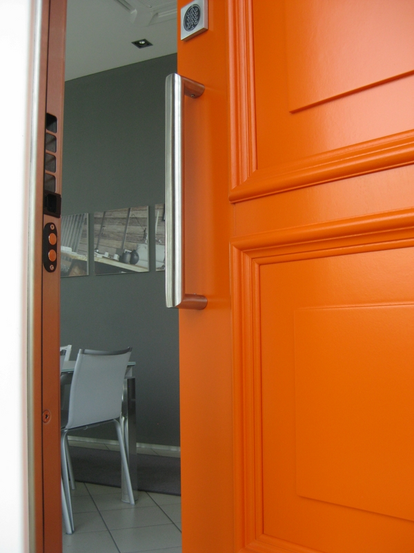 how to choose security residential doors