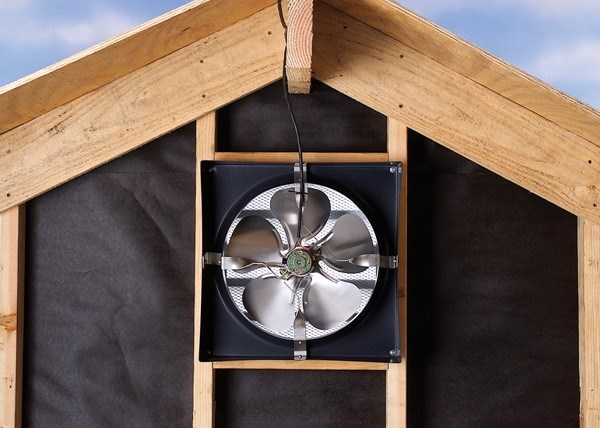 electrical attic fans pros and cons attic fan installation