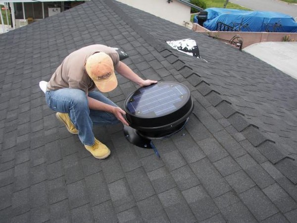 roof mounted vents solar installation roof vents