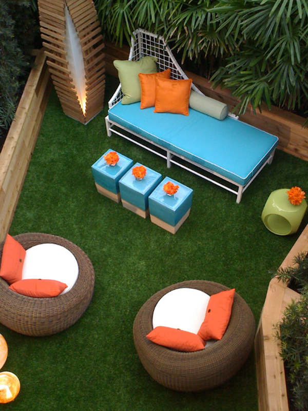 small patio furniture ideas outdoor chair cushions colorful pillows