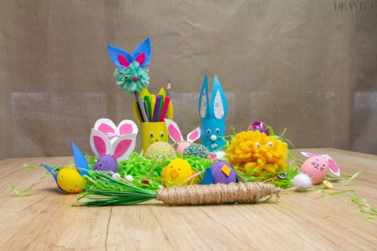 DIY Easter decorations 10 craft ideas with tutorials