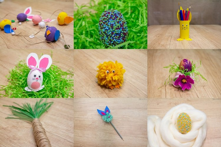 DIY Easter decorations 10 crafts with instructions