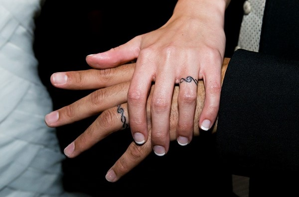 wedding ring tattoo ideas for couples pros and cons