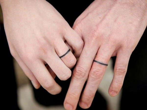 tattoo ring for couples wedding ideas