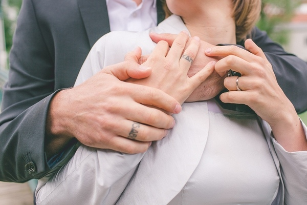 finger tattoos for couples ring tattoos