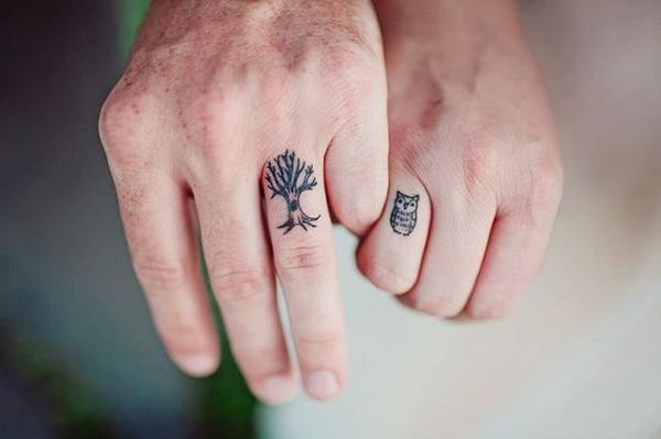 cool ring tattoo ideas for men and women