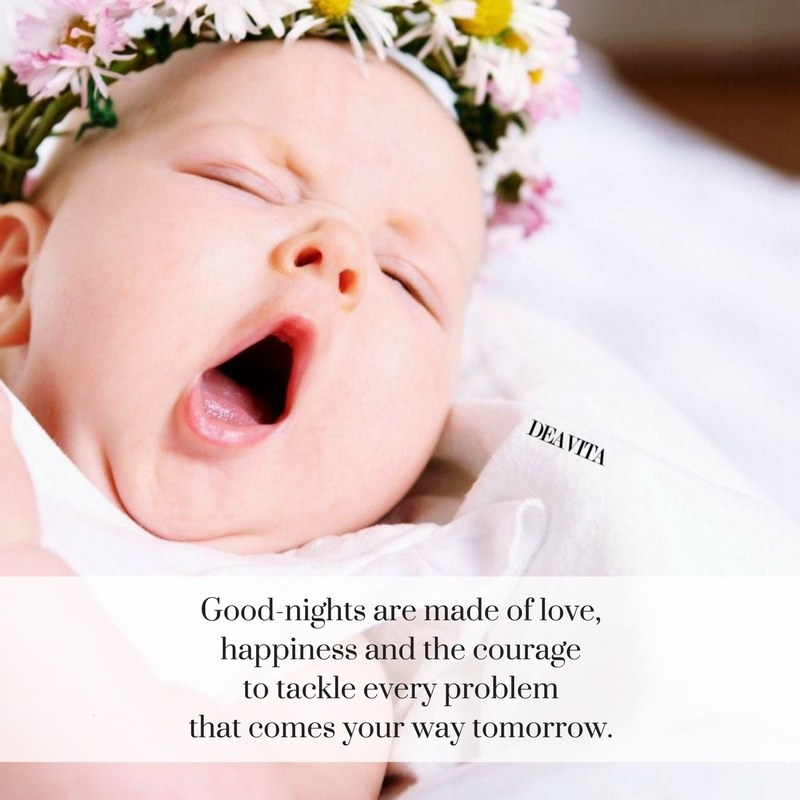 Good nights are made of love