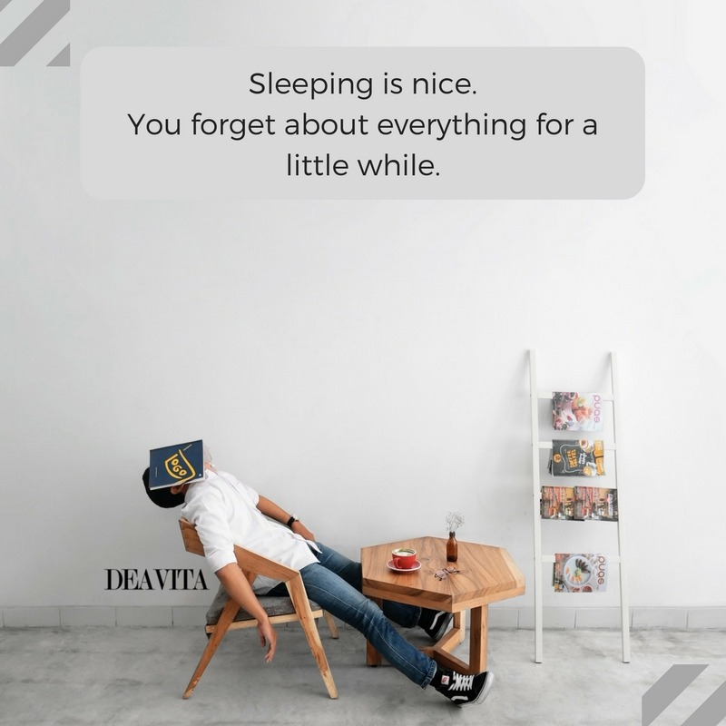 funny goodnight wishes and cards Sleeping is nice
