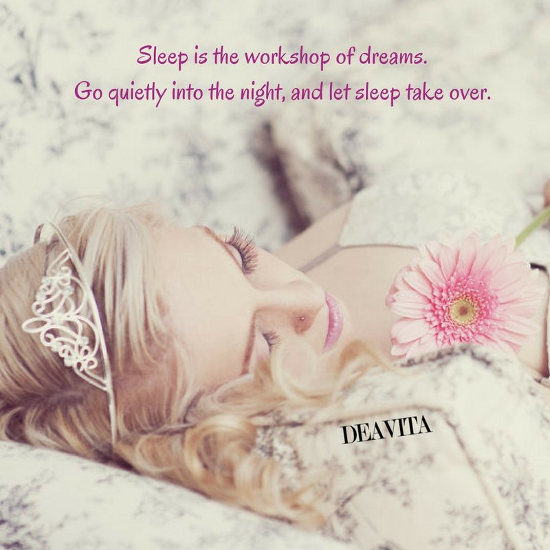 cute cards for good night Sleep is the workshop of dreams