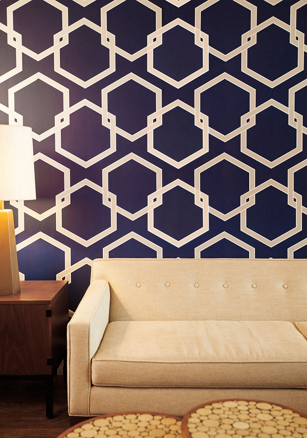 self adhesive-temporary-wallpaper-accent-wall-ideas-living-room-decor