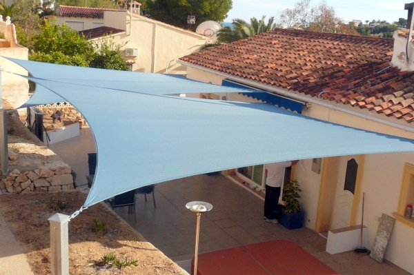 Terrace awning - individual solutions for sun protection