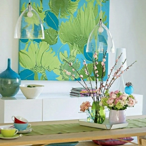 home trends green blue