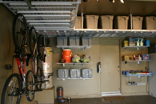 Overhead garage storage - ideas for your vertical space