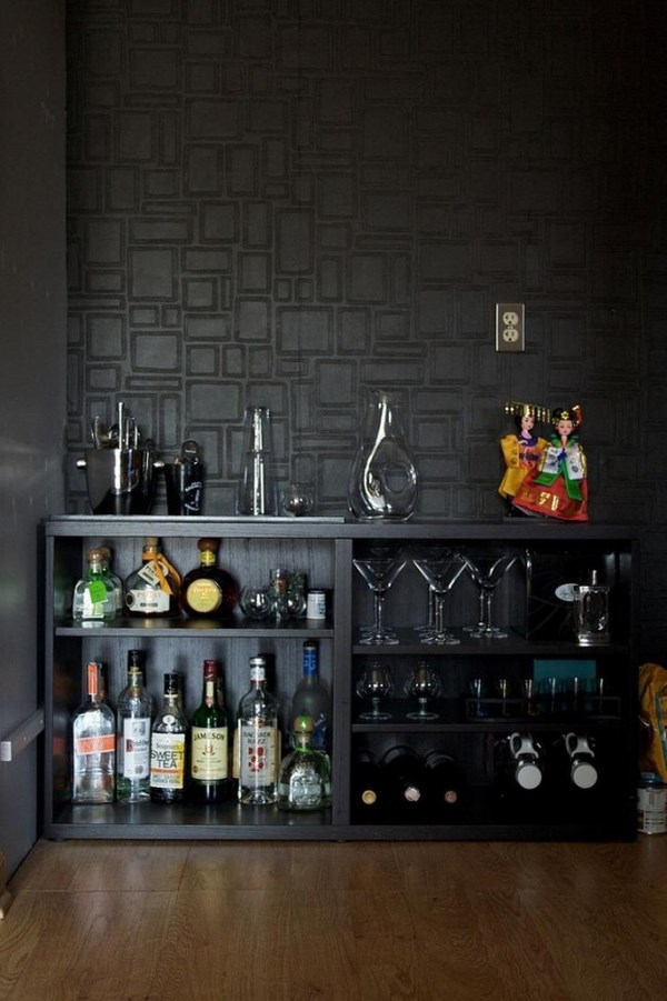 painting-over-wallpaper-man-cave-ideas-home-bar-decorating-ideas