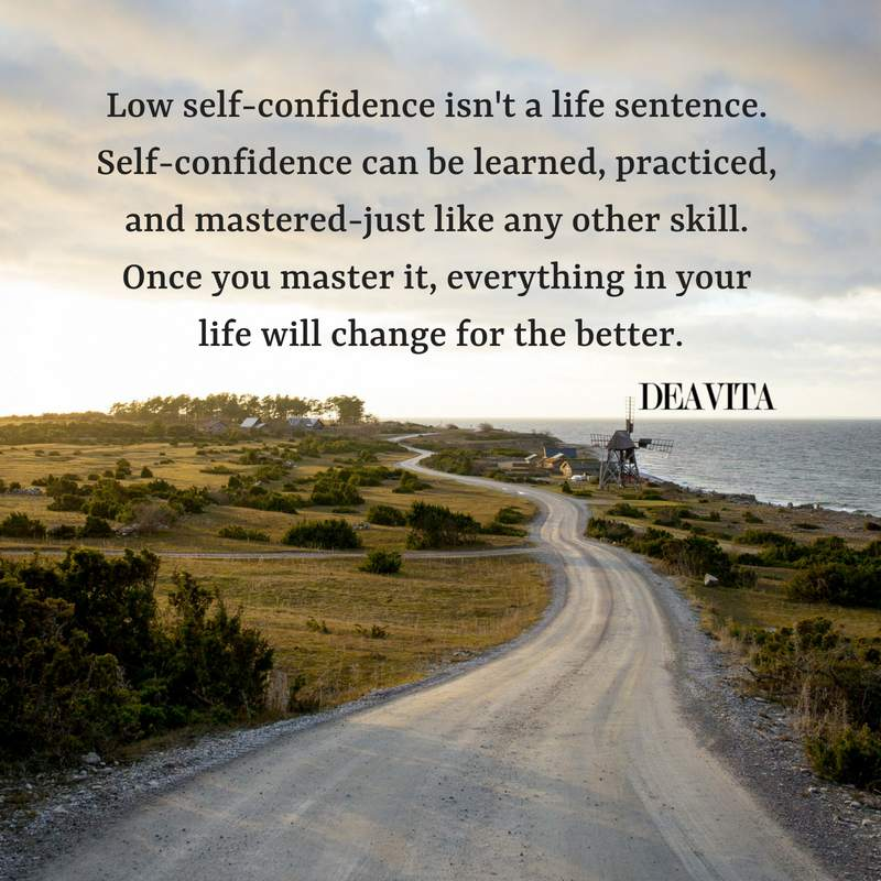 life quotes and self confidence sayings