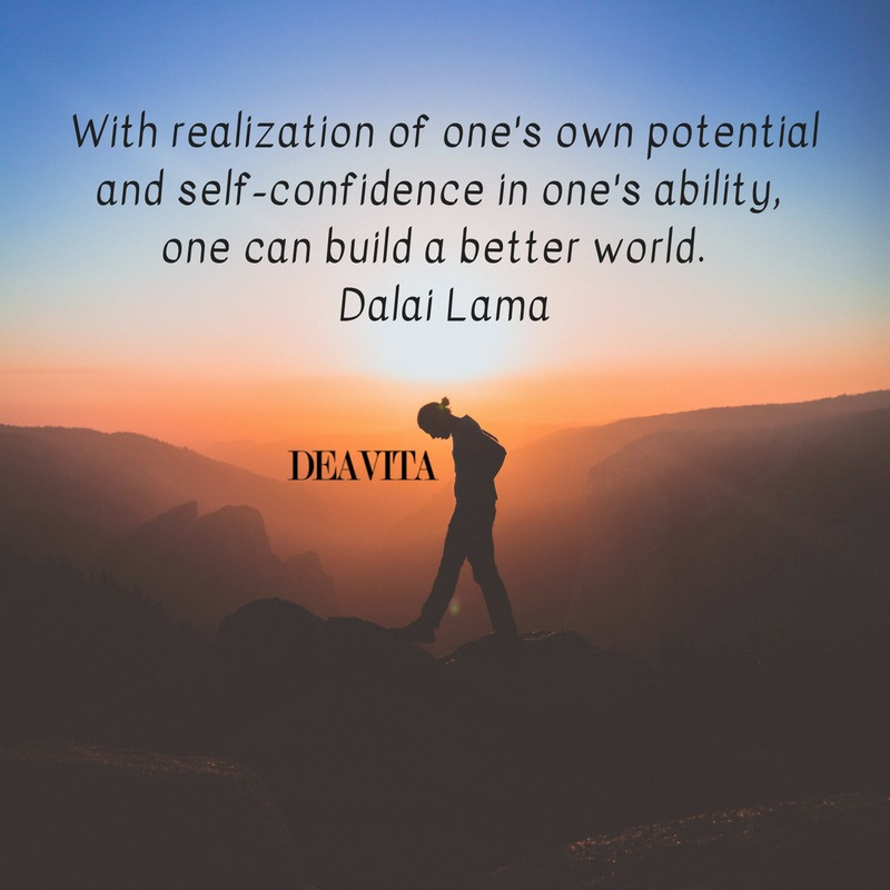 dalai lama deep short quotes about confidence