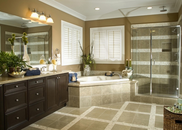 plantation-shutters- bathroom window privacy protection